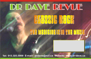 Dr Dave Revue Horizontal Poster